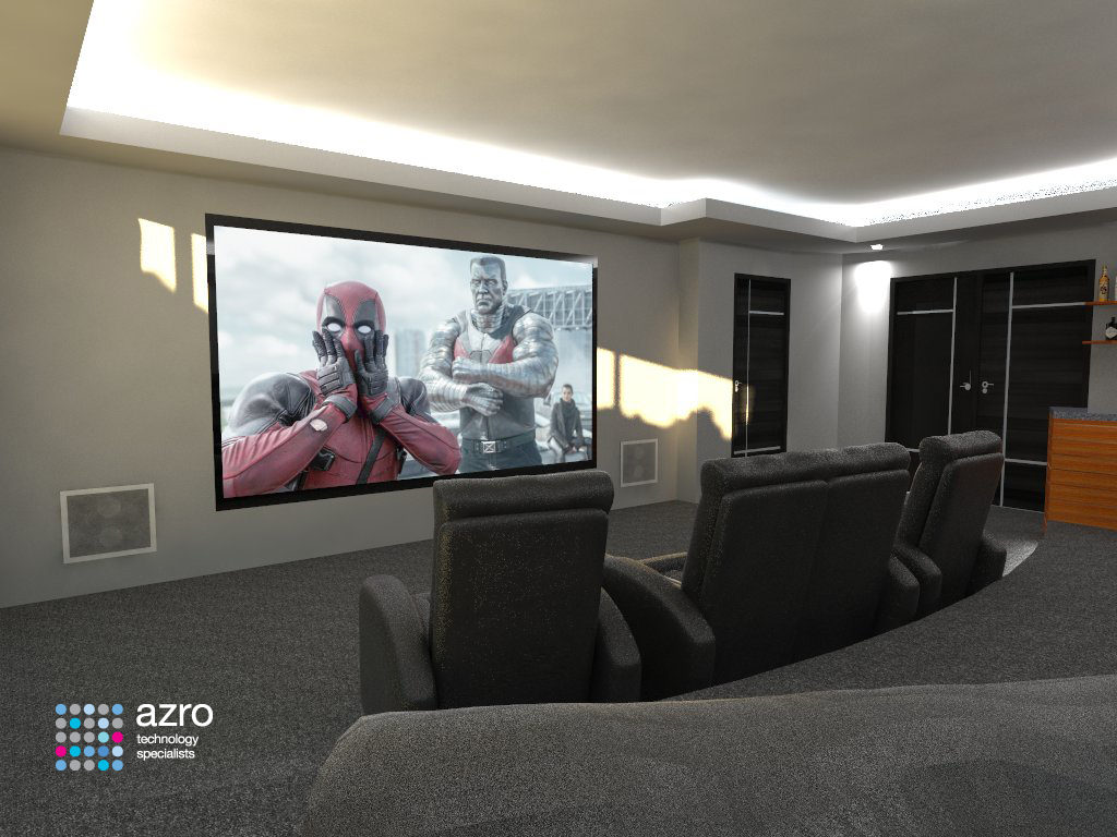 Cinema Room Sketchup
